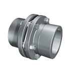 Torsionally Rigid Single Flex Couplings With Bore and Keyway
