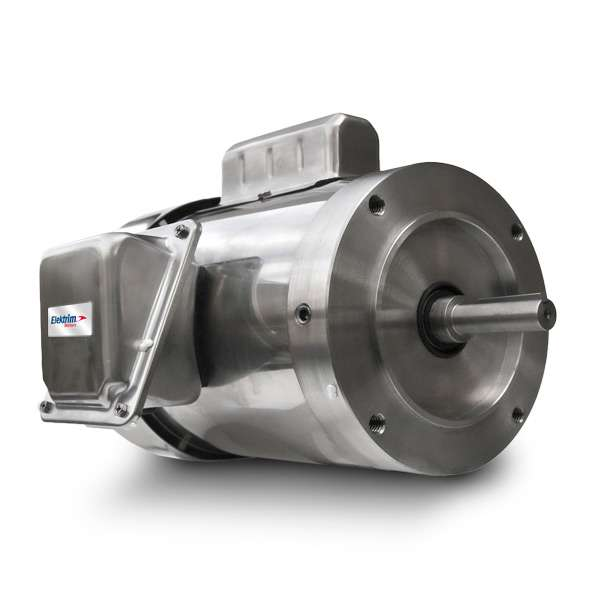 Elektrim 56C - 1PH - 3PH Stainless Steel Motors - 39CR-3-.75-36
