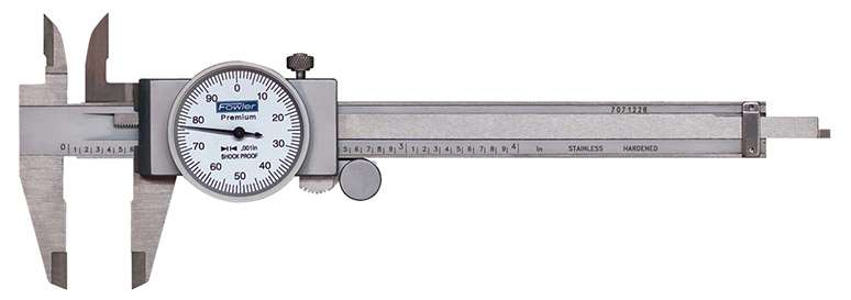 52-008-704-0 - Machinist Grade Dial Calipers