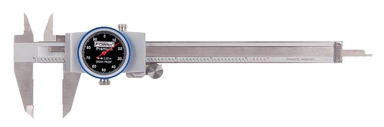 52-008-707-0 - Machinist Grade Dial Calipers
