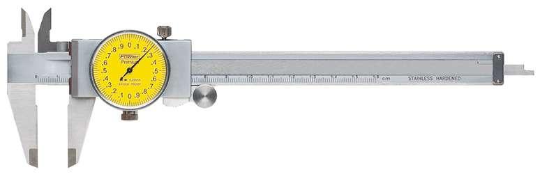 52-008-709-0 - Machinist Grade Dial Calipers Metric
