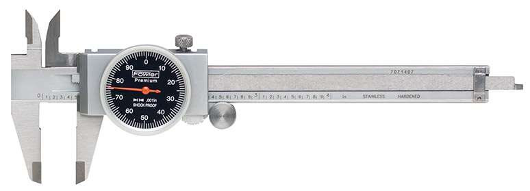 52-008-714-0 - Machinist Grade Dial Calipers