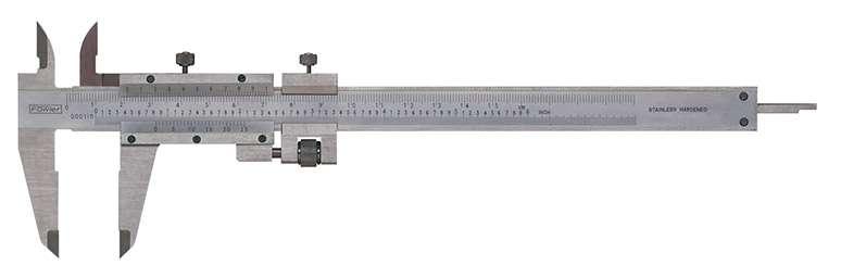 52-058-016-0 - Vernier Caliper with Fine Adjustment