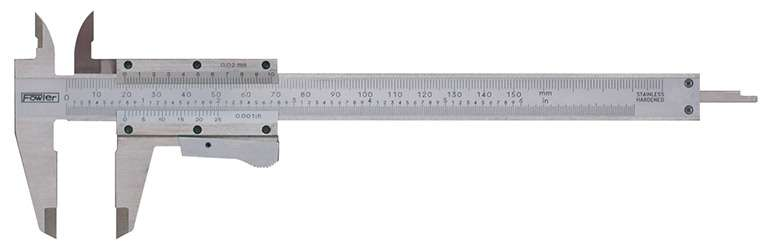 52-059-016-0 - Vernier Caliper with Thumb Lock