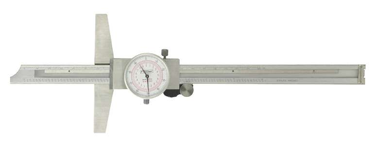52-130-008-0 - Inch/Metric Dial Depth Gage
