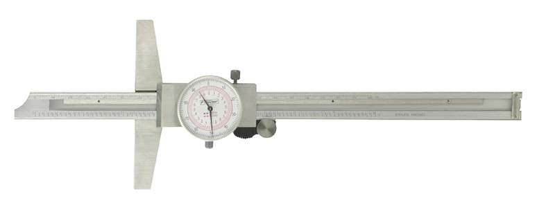52-130-012-0 - Inch/Metric Dial Depth Gage