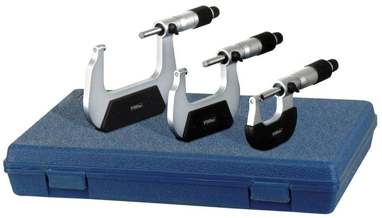 52-229-213-0 - Swiss Style Inch Micrometers Set