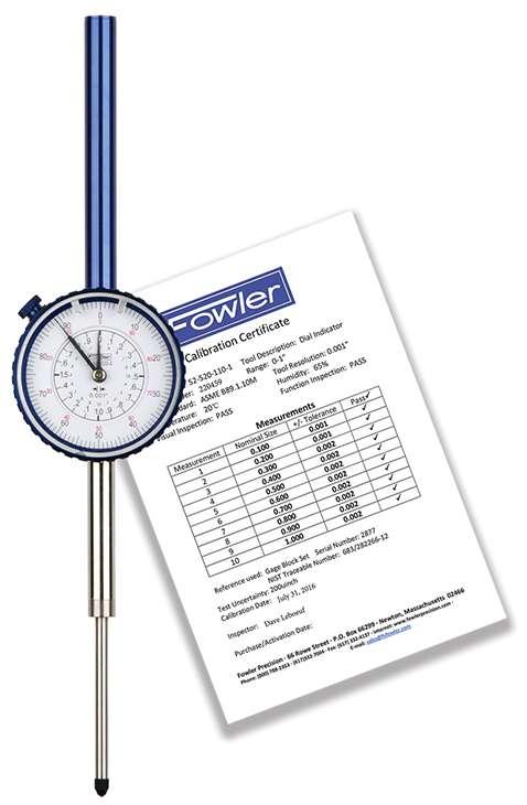 52-520-120-0 - Dial Indicators Inch