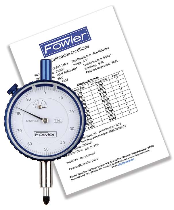 52-520-125-0 - Dial Indicators Inch