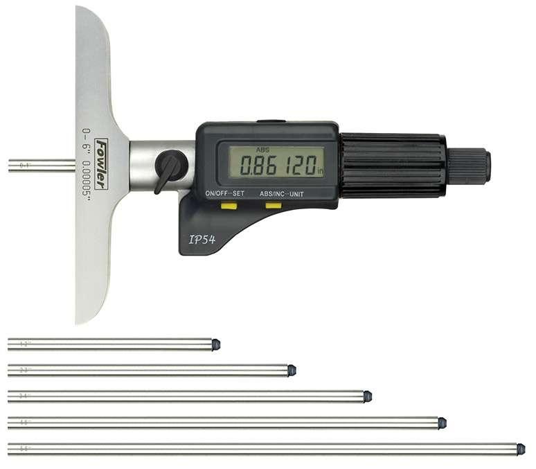 54-225-456-0 - Electronic IP54 Depth Micrometer