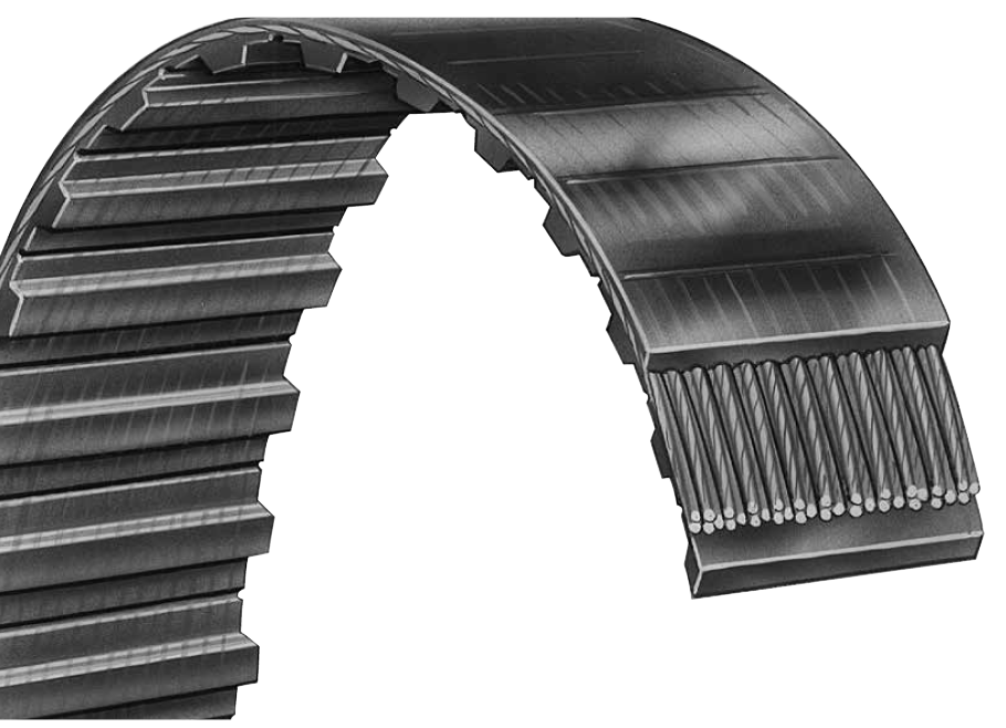 8T5-500UG - Standard Polyurethane (Metric) Timing Belt