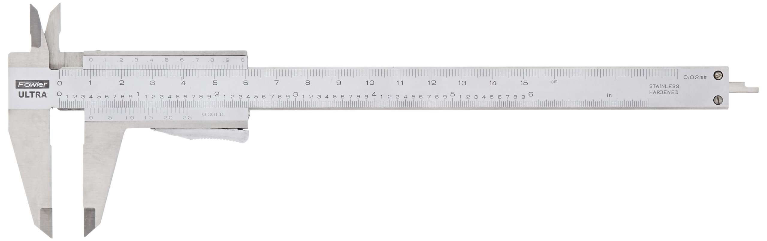 52-060-016-0 - Vernier Caliper - Parallax Free with Thumb Lock