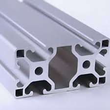 Metric Aluminum Extrusion - 40mm x 80mm Very Lite T-Slotted Extrusion