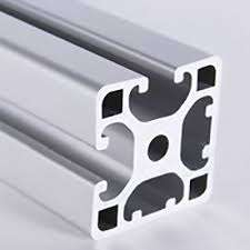 Metric Aluminum Extrusion - 40mm x 40mm Lite Bi Slot Adjacent T-Slotted Extrusion