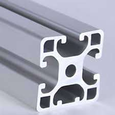 Metric Aluminum Extrusion - 40mm x 40mm Lite Tri Slot T-Slotted Extrusion
