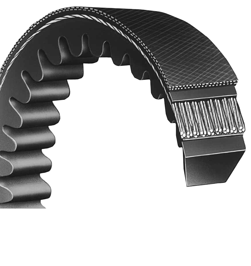 3VX235 - Power Ace Raw Edge Cog Narrow  V-Belt