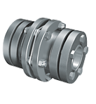XHS-1100 Torsionally Rigid Single Flex Coupling With Shrink Disc
