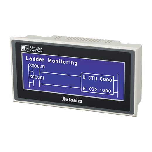 LP-S044-S1D1-C5R-A - 4.4-Inch Monochrome Widescreen Logic Panel