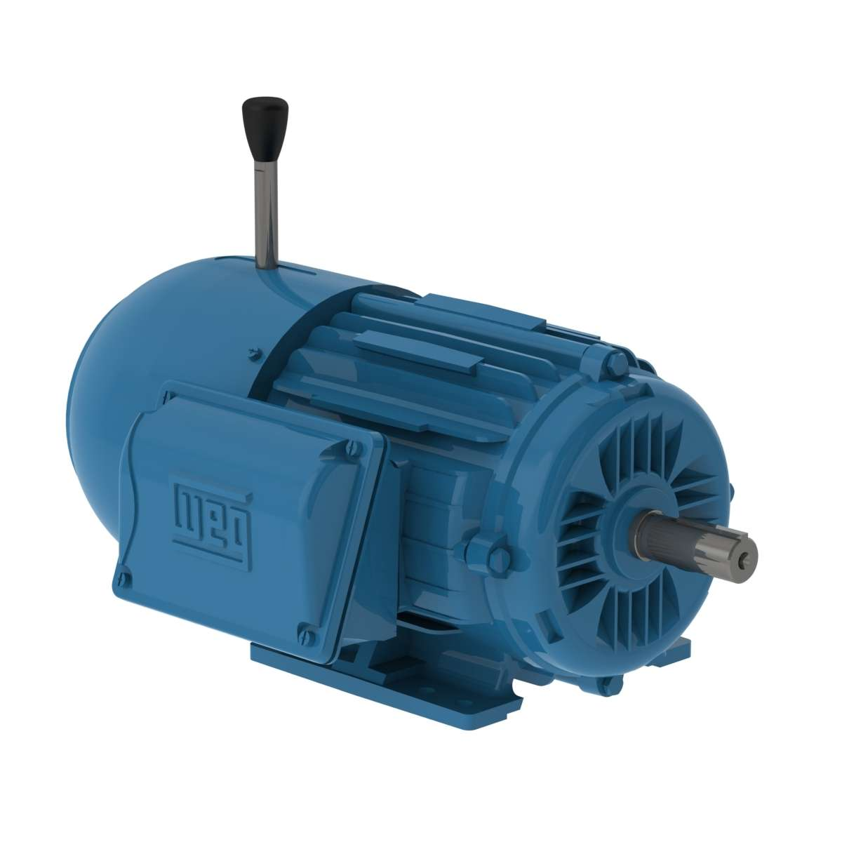00159ET3EBM184T-W22 - TEFC - Foot Mount Brake Motor