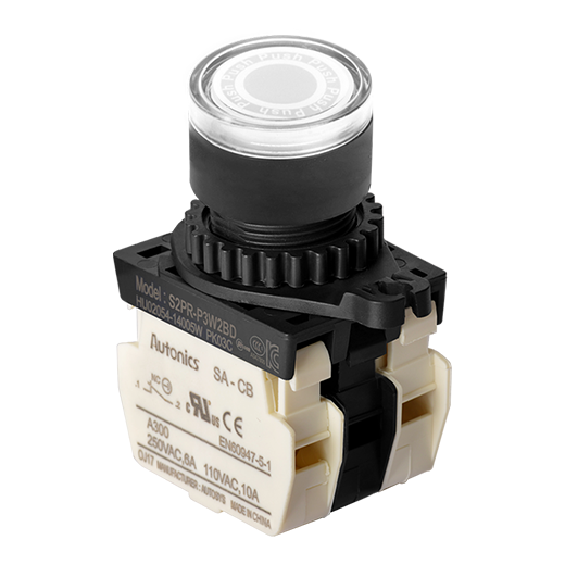 S2PR-P3WAD - 22/25 mm Push Button Switches
