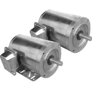 WSSNV12-18-56CB - Washdown Duty Stainless Steel Motor, TENV