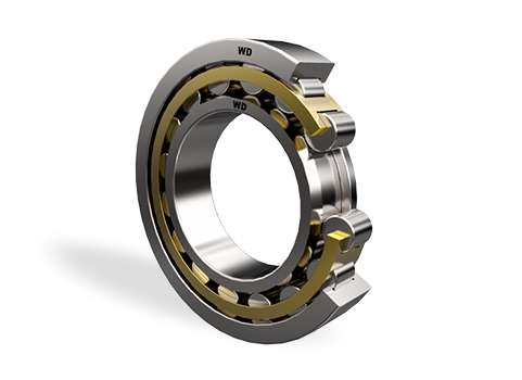 NJ222E - Single Row Cylindrical Roller Bearing