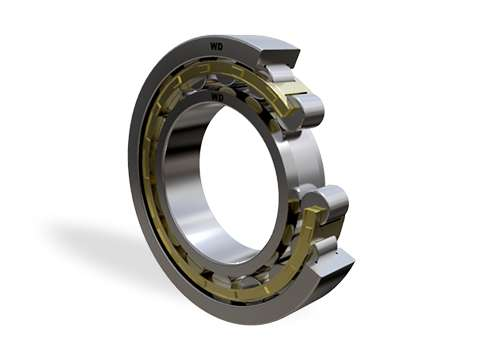 NU222E - Single Row Cylindrical Roller Bearing