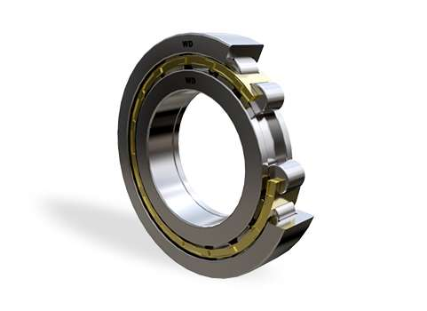 NUP319E - Single Row Cylindrical Roller Bearing