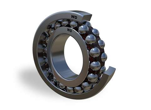 108 - Self-Aligning Ball Bearings Open Type
