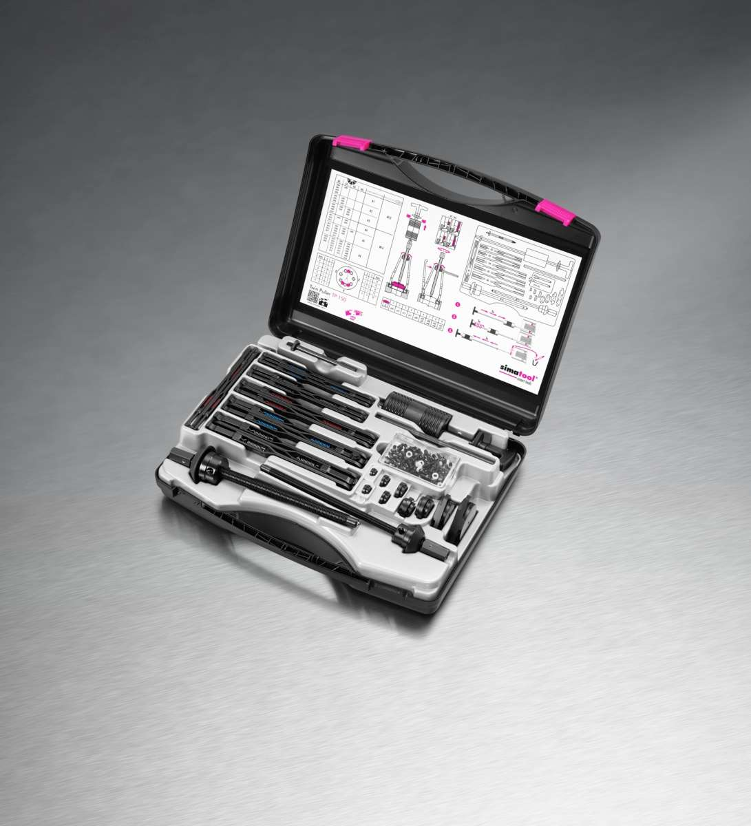 Simatool - TP 150 Twin Puller Kit