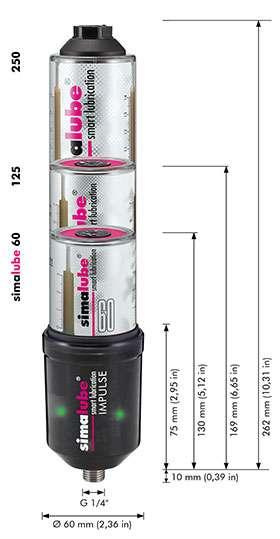 230.5000 - Simalube Impulse Battery Pack