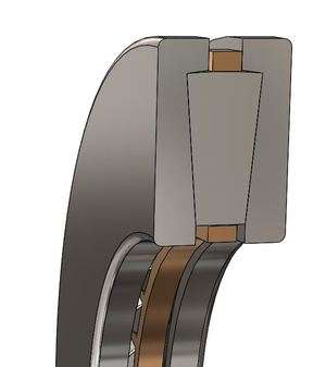 T-411 Tapered Roller Thrust Bearing