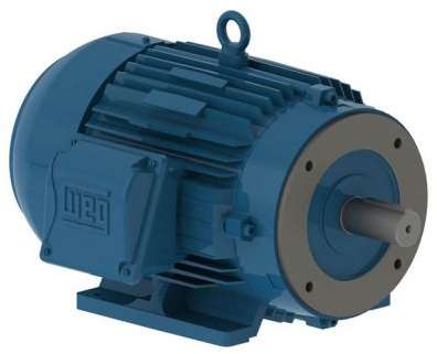 .2518ES1BW56C-S - TEFC - C-Face - Foot Mount Motor