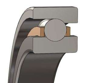7410-M Angular Contact Ball Bearing